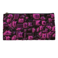 Metalart 23 Pink Pencil Cases by MoreColorsinLife