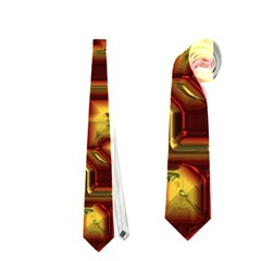 Metalart 23 Red Yellow Neckties (one Side)