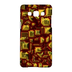 Metalart 23 Red Yellow Samsung Galaxy A5 Hardshell Case  by MoreColorsinLife