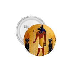Anubis, Ancient Egyptian God Of The Dead Rituals  1 75  Buttons by FantasyWorld7
