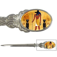 Anubis, Ancient Egyptian God Of The Dead Rituals  Letter Openers by FantasyWorld7