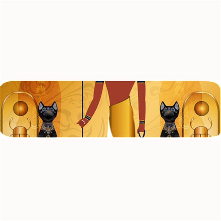Anubis, Ancient Egyptian God Of The Dead Rituals  Large Bar Mats