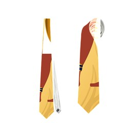 Anubis, Ancient Egyptian God Of The Dead Rituals  Neckties (two Side)  by FantasyWorld7