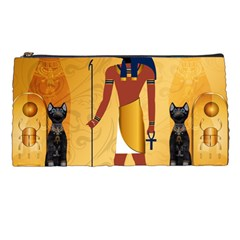 Anubis, Ancient Egyptian God Of The Dead Rituals  Pencil Cases by FantasyWorld7