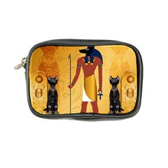 Anubis, Ancient Egyptian God Of The Dead Rituals  Coin Purse by FantasyWorld7