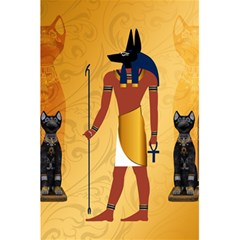 Anubis, Ancient Egyptian God Of The Dead Rituals  5 5  X 8 5  Notebooks by FantasyWorld7