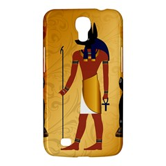 Anubis, Ancient Egyptian God Of The Dead Rituals  Samsung Galaxy Mega 6 3  I9200 Hardshell Case by FantasyWorld7