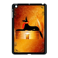 Anubis, Ancient Egyptian God Of The Dead Rituals  Apple Ipad Mini Case (black) by FantasyWorld7