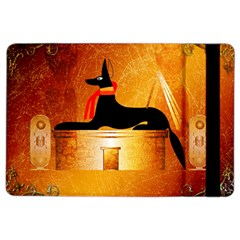 Anubis, Ancient Egyptian God Of The Dead Rituals  Ipad Air 2 Flip by FantasyWorld7