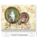 2016 Miracle Vol1 - Wall Calendar 11x8.5 (12Months) - Wall Calendar 11  x 8.5  (12-Months)