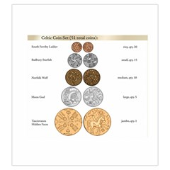 Celtic Coin Bag By Russell Khater Front