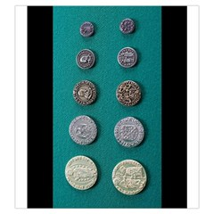 Renaissance Coin Bag By Russell Khater   Drawstring Pouch (large)   Zgv5bhan13uz   Www Artscow Com Back