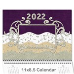 2016 Calender Elegance - Wall Calendar 11  x 8.5  (12-Months)
