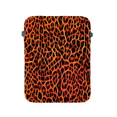 Lava Abstract Pattern  Apple Ipad 2/3/4 Protective Soft Cases by OCDesignss