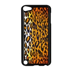 Brown Cheetah Abstract  Apple Ipod Touch 5 Case (black) by OCDesignss