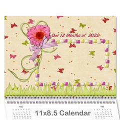Our 12 Months Of 2016 By Shelly   Wall Calendar 11  X 8 5  (12 Months)   Iuzapr6qwvdu   Www Artscow Com Cover
