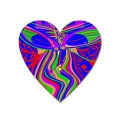 Transcendence Evolution Heart Magnet by icarusismartdesigns