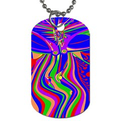 Transcendence Evolution Dog Tag (two Sides) by icarusismartdesigns