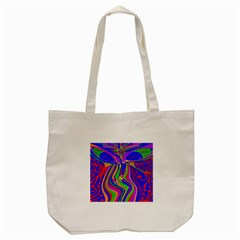 Transcendence Evolution Tote Bag (cream)  by icarusismartdesigns