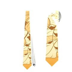 Wonderful Flowers With Butterflies Neckties (Two Side)  by FantasyWorld7
