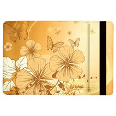 Wonderful Flowers With Butterflies Ipad Air 2 Flip by FantasyWorld7