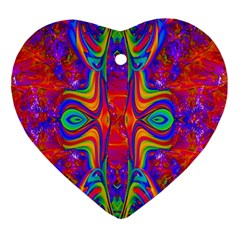 Abstract 1 Ornament (heart)  by icarusismartdesigns