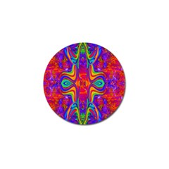 Abstract 1 Golf Ball Marker by icarusismartdesigns