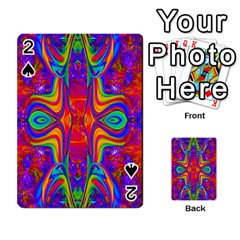 Abstract 1 Playing Cards 54 Designs  by icarusismartdesigns