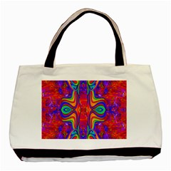 Abstract 1 Basic Tote Bag  by icarusismartdesigns