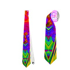 Abstract 1 Neckties (one Side)  by icarusismartdesigns