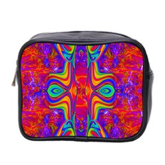 Abstract 1 Mini Toiletries Bag 2 Side by icarusismartdesigns