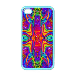 Abstract 1 Apple Iphone 4 Case (color) by icarusismartdesigns