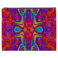 Abstract 1 Cosmetic Bag (xxxl)  by icarusismartdesigns