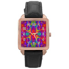 Abstract 1 Rose Gold Watches by icarusismartdesigns