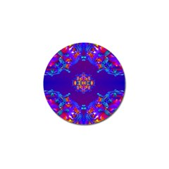 Abstract 2 Golf Ball Marker (4 Pack) by icarusismartdesigns