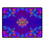 Abstract 2 Fleece Blanket (Small) 50 x40 Blanket Front