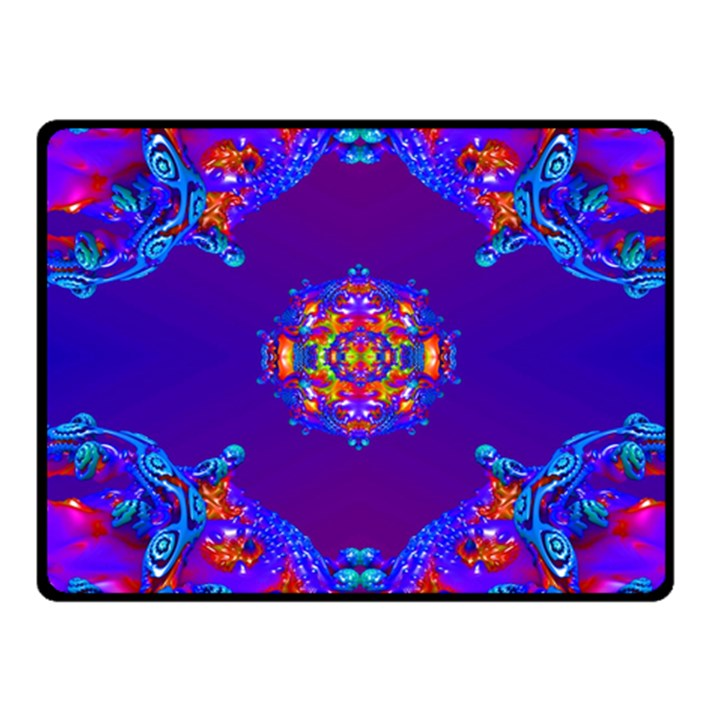 Abstract 2 Fleece Blanket (Small)