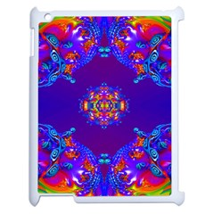 Abstract 2 Apple Ipad 2 Case (white) by icarusismartdesigns