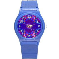 Abstract 2 Round Plastic Sport Watch (s) by icarusismartdesigns