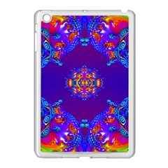 Abstract 2 Apple Ipad Mini Case (white) by icarusismartdesigns