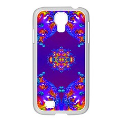 Abstract 2 Samsung Galaxy S4 I9500/ I9505 Case (white) by icarusismartdesigns