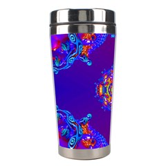 Abstract 2 Stainless Steel Travel Tumblers by icarusismartdesigns