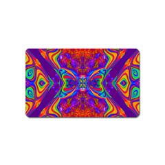 Butterfly Abstract Magnet (name Card) by icarusismartdesigns