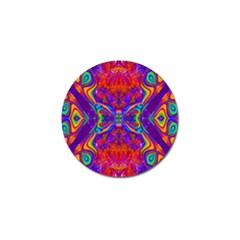 Butterfly Abstract Golf Ball Marker (4 Pack) by icarusismartdesigns