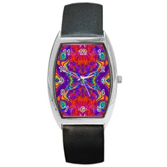 Butterfly Abstract Barrel Style Metal Watch by icarusismartdesigns