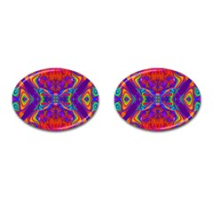 Butterfly Abstract Cufflinks (oval) by icarusismartdesigns