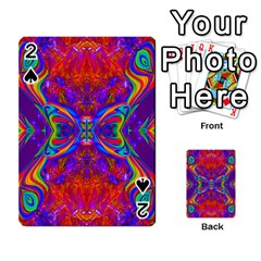 Butterfly Abstract Playing Cards 54 Designs