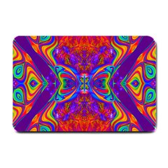Butterfly Abstract Small Doormat by icarusismartdesigns