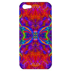 Butterfly Abstract Apple Iphone 5 Hardshell Case by icarusismartdesigns