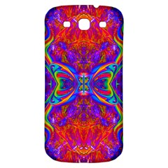 Butterfly Abstract Samsung Galaxy S3 S Iii Classic Hardshell Back Case by icarusismartdesigns